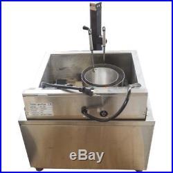 110V 60HZ Funnel Cake Deep Fryer Machine Maker