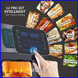 12.4QT Air Fryer Oven XL, 1700W 12 in 1 Electric Deep Fryer with Dehydrator