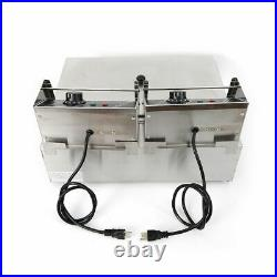 12L 5000W Electric Deep Fryer Commercial Tabletop Restaurant Frying with Machine