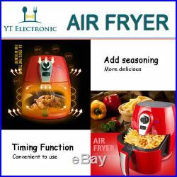 1400W 4.2L Non-Stick Low Fat Cook Deep Fryer Health Food Air Fryer No Oil Add