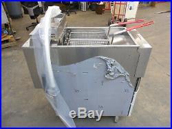 1663 New S/D Vulcan Electric Deep Fryer, Filtration System, Model 1ER50AF-1