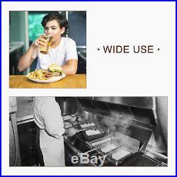 16L Dual Tank Electric Deep Fryer Countertop Fry Basket Restaurant Commercial