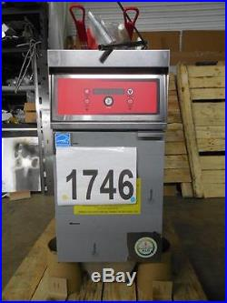 1746-Vulcan Electric Deep Fryer with Kleenscreen Plus Filtration Model 1ER50DF-3