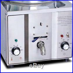 2.4KW 16L Commercial Electric Countertop Pressure Deep Fryer Chicken Meat Frying