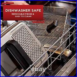 2.6-lbs Deep Fryer Stainless Steel EZ Clean Oil Filtration Basket Fried Chicken