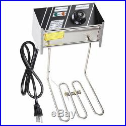 20L Electric Deep Fryer Restaurant Hotel Bar Party Countertop Stainless Steel