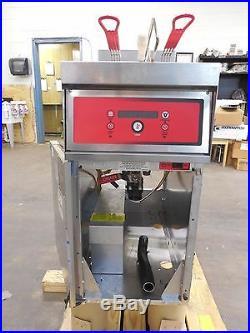 2115 Vulcan Electric Deep Fryer, 1-battery, 208v, 50lb capacity Model 1ER50D-1