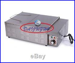 220V 32L For Potato Chicken Single Cylinder Electric Deep Fryer Frying Ove New