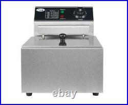 220V 6L Single Cylinder Electric Deep Fryer Frying Oven For Potato Chicken