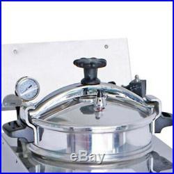 2400W 16L Commercial Electric Countertop 25 Chicken Pressure Deep Fryer Machine