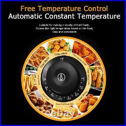 2500W 6.3QT Electric Countertop Deep Fryer Basket Commercial Restaurant 6L Liter