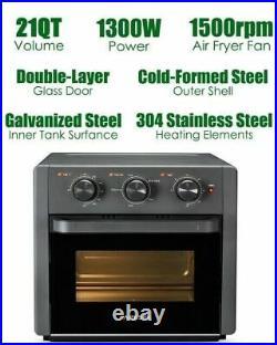 5 in 1 Weesta Toaster Oven Airfryer Desktop Convection Oven Deep Fryer Oven