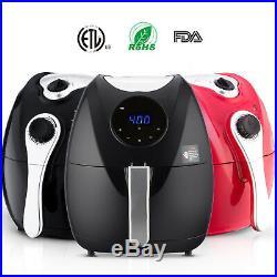 6.3QT Digital Electric Air Fryer Oil Less Low Fat Multifunction Deep Fryer Home