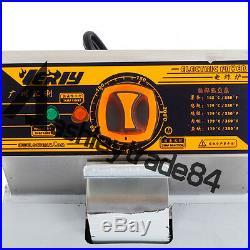 6L Single Cylinder Electric Deep Fryer Potato Chicken Churros Frying Pan 220V