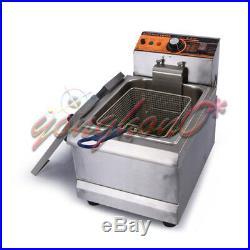 8.5L 220V Single Cylinder Electric Deep Fryer Frying Oven For Potato Chicken