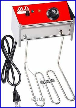 ALDKitchen Double Electric Deep Fryer Commercial Use Stainless Steel 110V 2 Tank
