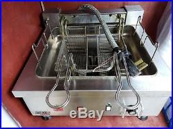 APW wyott countertop deep fryer