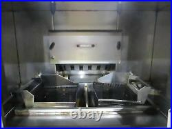 AUTOFRY MTI-40 ELECTRIC VENTLESS DEEP FRYER With ANSUL FIRE & FILTRATION SYSTEM