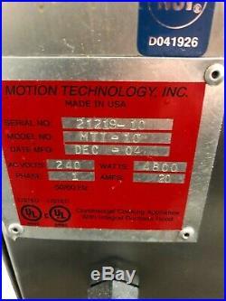 AUTOFRY Ventless Deep Fryer Hoodless Electric Model MTI-10 MTI10 WORKS GREAT