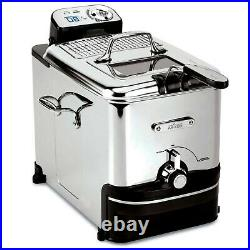 All-Clad EJ814051 Stainless Steel Deep Fryer with Digital Timer