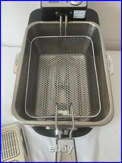 All-Clad EJ814051 Stainless Steel Deep Fryer with Digital Timer NEVER USED