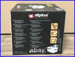 Alpina SF-4008 220 Volt 3.5L Deep Fryer Twin Bowl 220V 240V- European