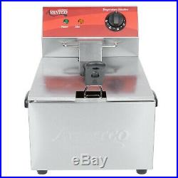 Avantco 10 lb. Electric Countertop Deep Fryer 120V 3500W Commercial Restaurant