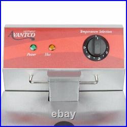 Avantco F100 10 lb. Electric Countertop Deep Fryer 120V, 3500W 14.6 Amps New