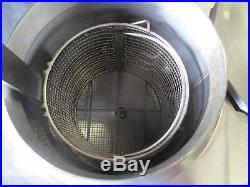 BKI ALF-FC Electric Auto Lift Kettle Deep Fryer With Programmable Controls Filter