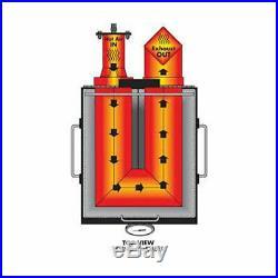 Bayou Classic 4-Gallon 2 Basket Stainless Steel Deep Fryer 700-701