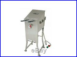 Bayou Classic 700-701 4-Gallon Bayou Fryer Stainless Steel