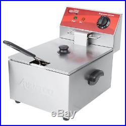 Best Deep Fryer Donut Single French Fry Food Cooker Concession Equipment Avantco