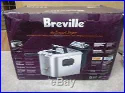 Breville BDF500XL 4 Quarts The Smart Deep Fryer BRAND NEW