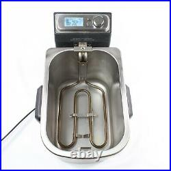 Breville Stainless Smart Deep Fryer BDF500XL 4 QT Used Condition Includes Basket