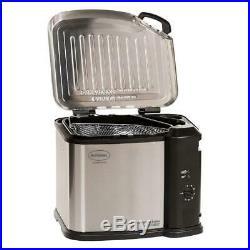 Butterball Electric Deep Fryer 1650 Watt Turkey Chicken Wings Dishwasher Safe
