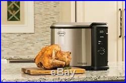 Butterball Electric Fryer, Large Turkey Fryer, Indoor Aluminum Deep Fry Poultry