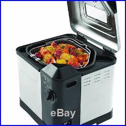 Butterball Turkey Fryer Pot Electric Fish Fry Deep Fryer Oil XL Fry Steam Boil