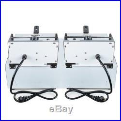 CA Warehouse 5000W Electric 11L Dual Tanks Deep Fryer Commercial Tabletop Fryer