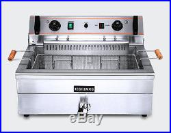 CE High-quality Commercial Electric Deep Fryer Single tank 20L with timer 220V