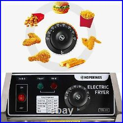 Casulo 3600W Commercial Deep Fryer Electric Deep Fryer with Baskets 12.7QT(6.34)
