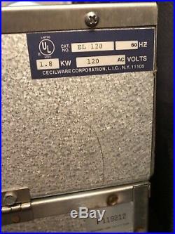 Cecilware EL-120 Stainless Steel Commercial Countertop Electric Deep Fryer