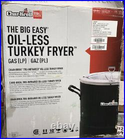 Char-Broil The Big Easy TRU-Infrared Oil-Less Turkey Fryer, New