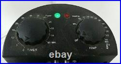 Charmglow Electric 28 Qt Turkey Deep Fryer Seafood Boiler Steamer Chicken Kettle