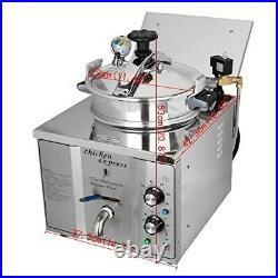 Chicken Express Commercial / Home 3000W Electric 16L Pressure Deep Fryer