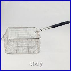 Commercial Deep Fryer Stainless Steel Electric FryerDual Tank Basket 2000W×2