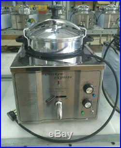 Commercial Electric 3000W 15L Pressure Deep Fryer Food Chips Potato Chicken Oven