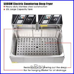 Commercial Electric Deep Fryer French Fries Frying Machine Oven Fried Chicken