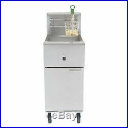 Cookline SR114E 16 Electric 40 lb. Commercial Deep Fryer 240v