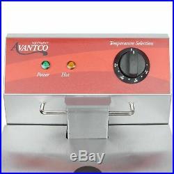 Countertop Deep Fryer Electric 120V 10 lb Restaurant Compact Commercial Avantco