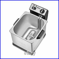 Cuisinart CDF-170 Deep Fryer, 3.4 quart, Stainless Steel